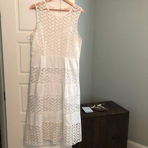 Shoshanna white dress
